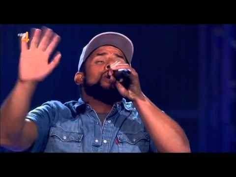 Mitchell Brunings  Redemption Song  Bob Marley The Voice Of Holland Season 4