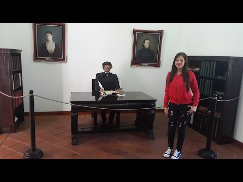 AMBATO - ECUADOR MUSEO JUAN MONTALVO..! Liz =)