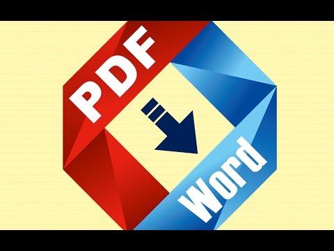 pasar de pdf a word editable