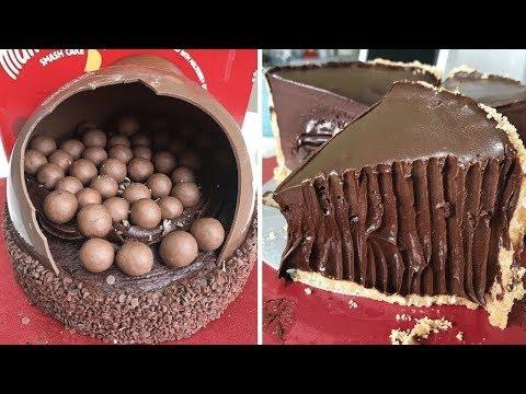 Amazing Chocolate Cake Art Compilation   Top 10 Awesome Chocolate Cake Decorating Ideas