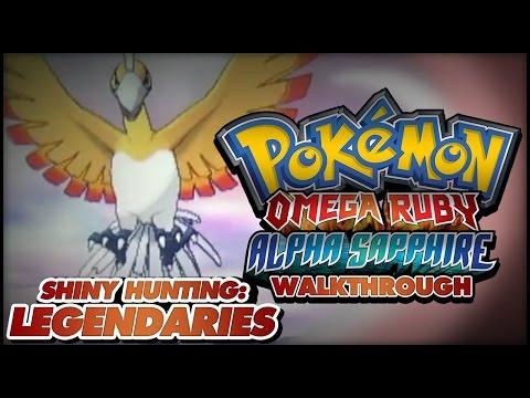 Pokémon Omega Ruby And Alpha Sapphire Walkthrough - Shiny Hunting Guide: Soft-reset For Legendaries!