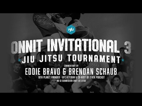 Onnit Invitational 3 Jiu Jitsu Tournament