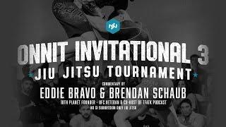 Onnit Invitational 3 Jiu Jitsu Tournament