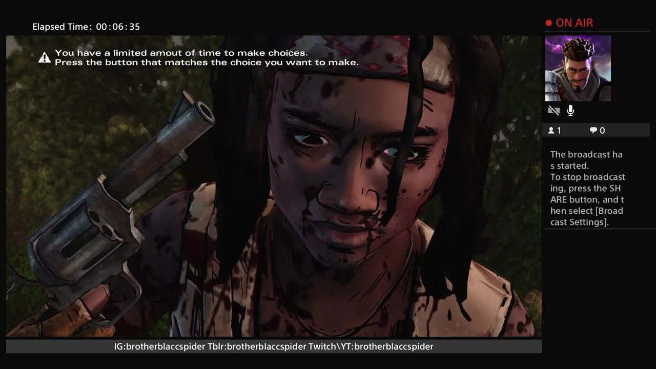 What Im playing now...Walking Dead Michonne