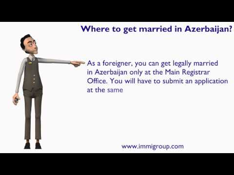 Where to get married in Azerbaijan?