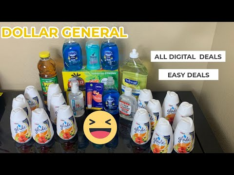 Dollar General  Overage🔥🔥🔥 All Digital  Deal🔥🔥 Easy  Deals  Budget Boss Coupons