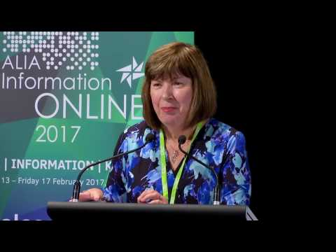 Keynote Jane King - ALIA Information Online 2017 Conference
