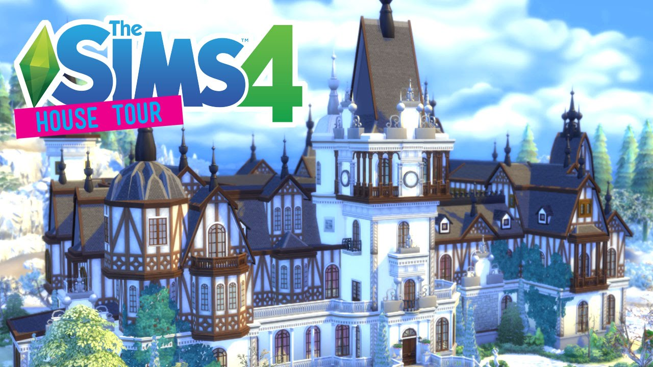 The Sims 4 Peles Castle House Tour Youtube