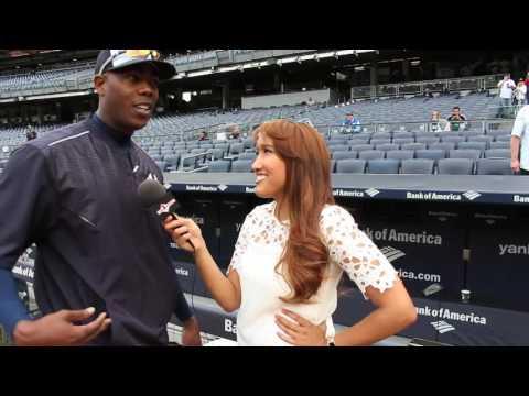 Chica Deportes entrevista a Aroldis Chapman