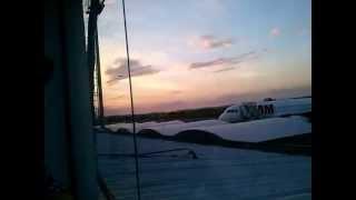 Decolagem Avião Azul - Coca Zero - Aeroporto de Goiânia