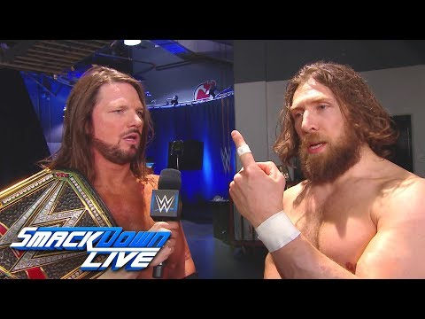 Is AJ Styles lying about hitting Daniel Bryan by accident?: SmackDown LIVE, Oct. 23, 2018