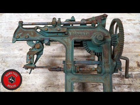 1890s' Most Unnecessarily Complicated Apple Peeler [Restoration]