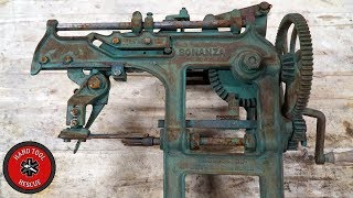 1890s' Most Unnecessarily Complicated Apple Peeler [Restoration]