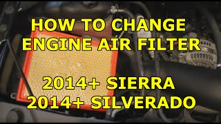 Diy Engine Air Filter Replacement