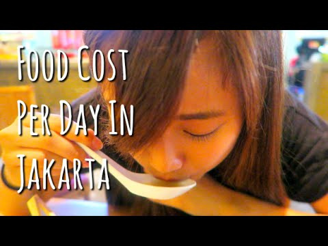 Food Cost Per Day In Jakarta Indonesia Youtube