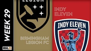 Birmingham Legion FC vs. Indy Eleven: September 20, 2019