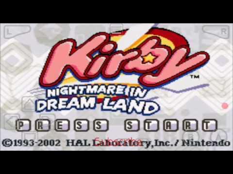 kirby nightmare in dreamland gba