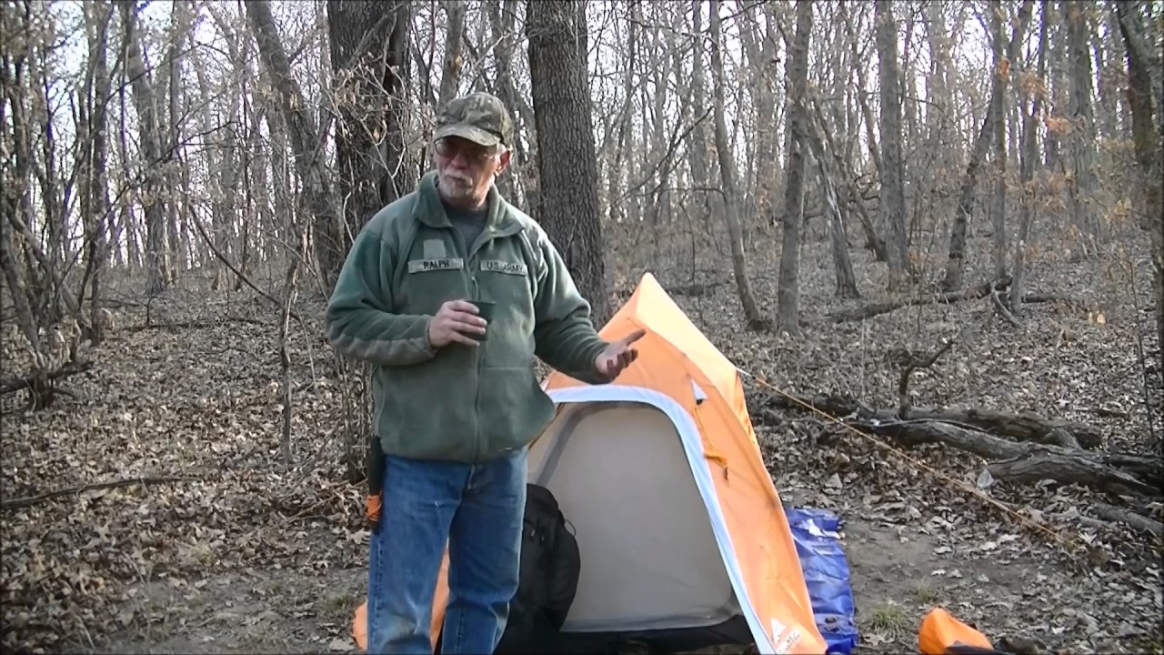 Ozark Trail 1 Person Ultra Light Backpacking Tent Review & Ozark Trail 1 Person Ultra Light Backpacking Tent Review - YouTube