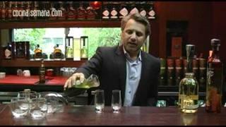La técnica: Como servir tequila, ginebra y whisky