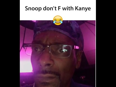 """Snoop Dogg On Kanye West 💀  """"I Smoke Weed, But Weed Don't Make You Do That, What The F*** Is He On"""