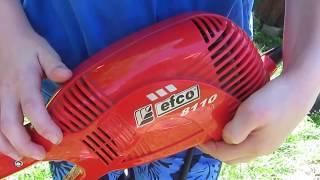 Ремонт электрической газонокосилки триммера Efco 8110 своими руками Замена втулки