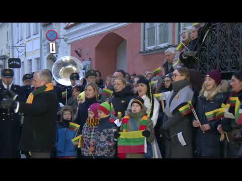 Estija sveikina Lietuvą su Vasario 16-ąja