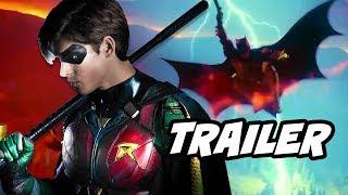 Titans Episode 3 Batman Scene and Doom Patrol Trailer Breakdown