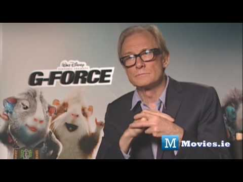 Bill Nighy talks Astroboy, Pirates 4, Harry Potter & G-Force