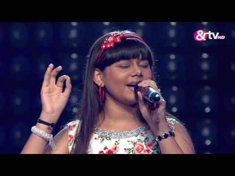 Rajshri Bag - Blind Audition - Episode 8 - August 14, 2016 - The Voice India Kids