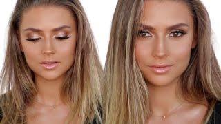 Bronze Smokey eye makeup tutorial | Isabella Quinn Makeup Artist