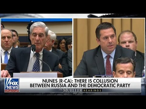 Ranking Member Nunes delivers opening statement at the Mueller hearing