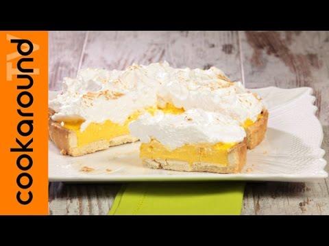 Crostata meringata al limone / Ricette crostate golose