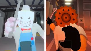 ROBLOX PIGGY ICE SCREAM JERRY ALL JUMPSCARES