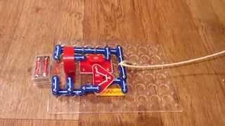 как сделать сигнализацию из электронного констректора