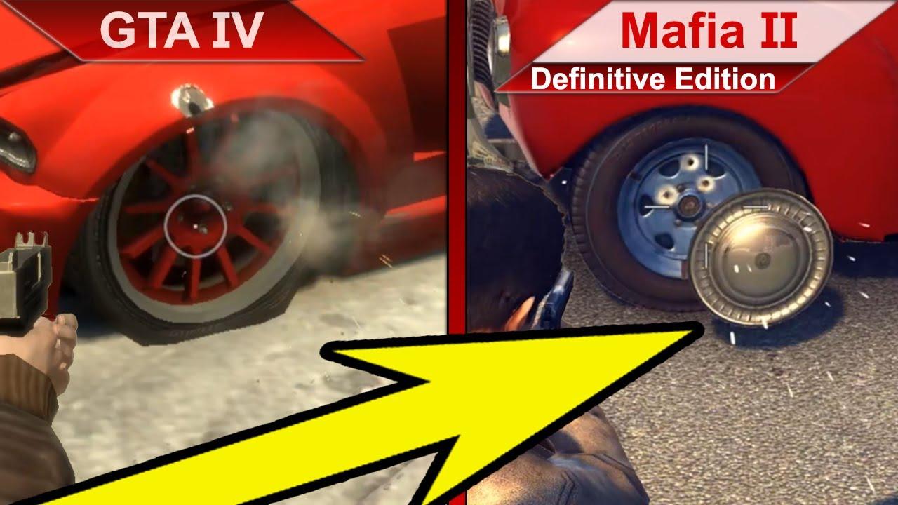 ATTENTION TO DETAILS | GTA IV vs. Mafia II (Definitive Edition) | PC | ULTRA