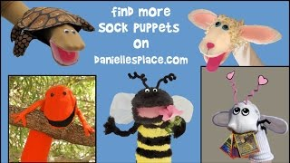 How to Make Sock Puppets -  View it and Do it Craft! #1