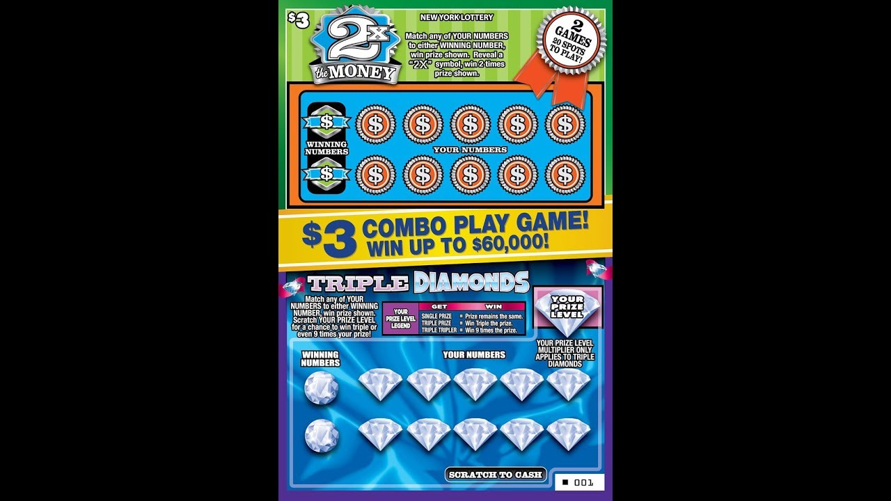 3 Combo Play 2x Money Win Lottery Bengal Scratch Off Instant