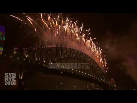 Viti i Ri 2017, Australia në festë me fishekzjarre - Top Channel Albania - News - Lajme