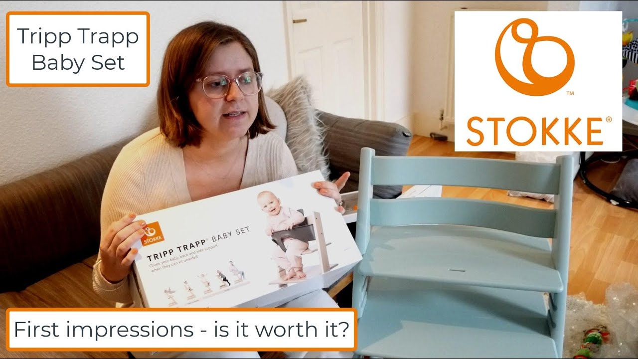Download FIRST IMPRESSIONS - Stokke Tripp Trapp Baby Set (UK 2021)