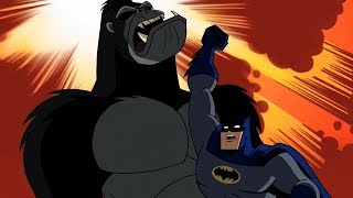Gorilla Grodd! Blow Right Into The Jaw! Well Done Batman!