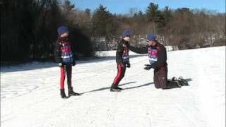 Youth XC ski instruction 7:  Classic progression: dryland preparation