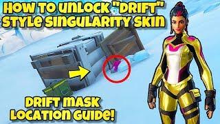 """NEW How To Unlock """"DRIFT"""" Style For SINGULARITY SKIN! Fortnite BR (SINGULARITY DRIFT MASK LOCATION)"""