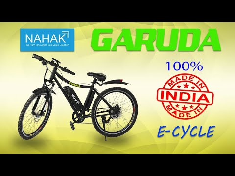 Download Nahak E-Cycle GARUDA || 100% Made in India 🇮🇳  #GOGREEN #electricmobility #ElectricVehicles