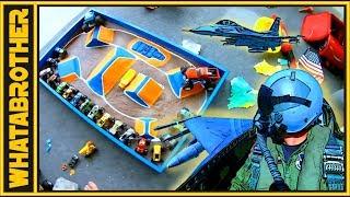 🤩DIY Toy Monster Trucks & Monster Truck Arena 🤩 Hot Wheels Power Wheels Monster Jam 🤩