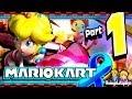 Mario Kart 8 Part 1 Mushroom Cup Co op Fun