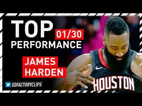James Harden HISTORIC Triple-Double Highlights vs Magic - 60 Pts, 10 Reb, 11 Ast | 2018.01.30