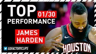 James Harden HISTORIC Triple-Double Highlights vs Magic - 60 Pts, 10 Reb, 11 Ast | 2018.01.30