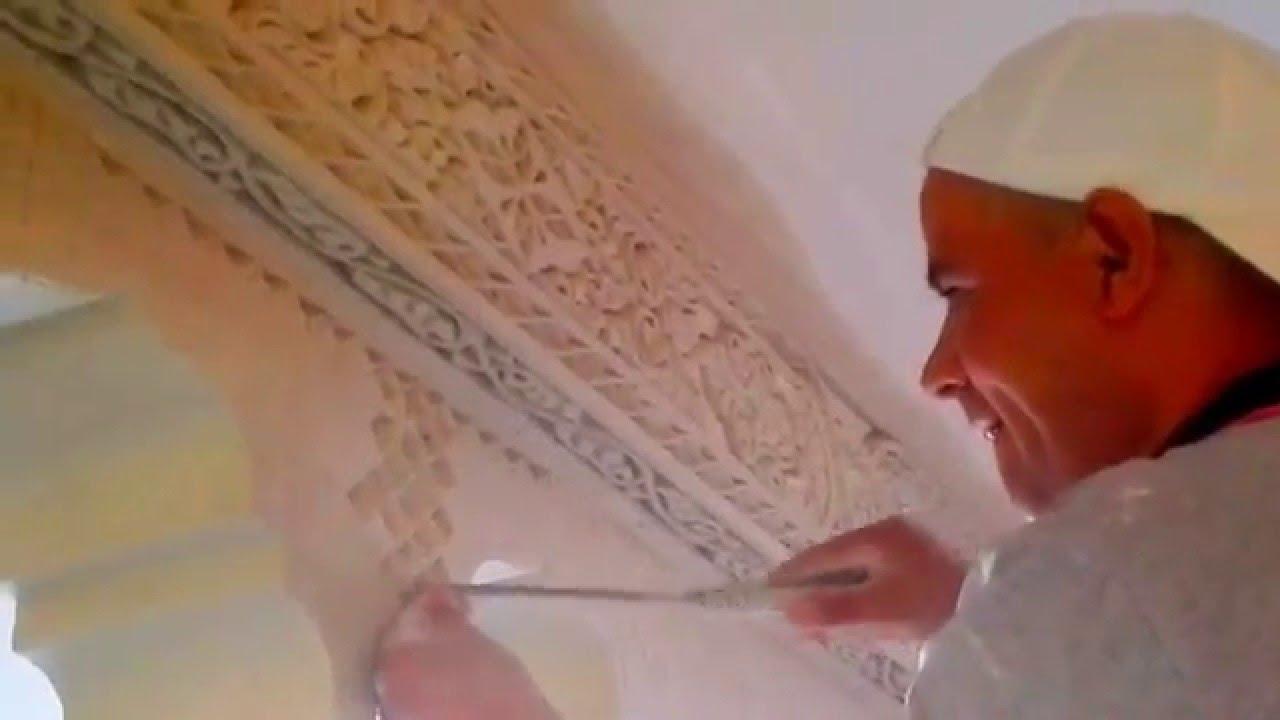 arte arabe escayola marroqui youtube