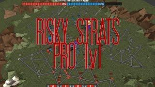 Risky Strats 1v1 Popcorn897 vs Purplescheer9