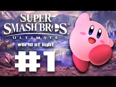 THE TIME HAS COME AND MY BODY IS READY!!! - Super Smash Bros Ultimate World of Light #1 | runJDrun thumbnail